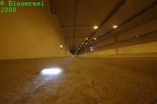 Blick in den Tunnel